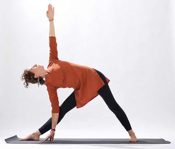 image of person in yoga asana